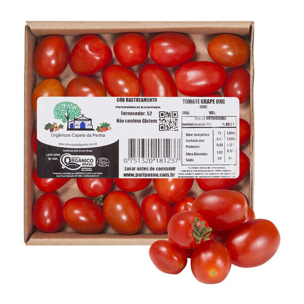 Tomate Grape Orgânico - CASA DA ANNAH