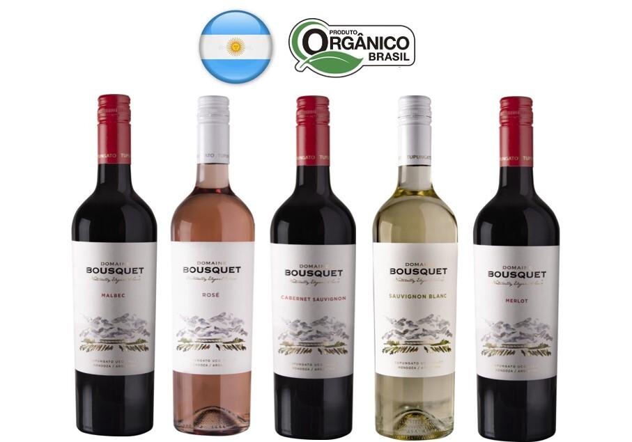 Vinhos Orgânicos Domaine Bousquet (Argentina) - CASA DA ANNAH